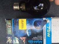 Exo-Terra 75W Moonlight Bulb