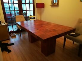 Solid Hardwood Dining Table 6 x 3'