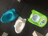 3 potties