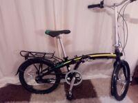 Claud butler Cirrus fold up bike (New)