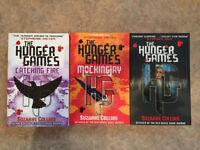 Hunger games trilogy, teenage fiction book set