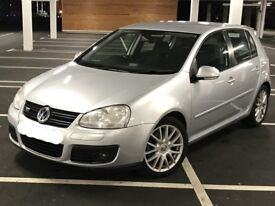VW GOLF 2.0 GT TDI 2006 5 DOOR LADY OWNER FSH (good economical family car)