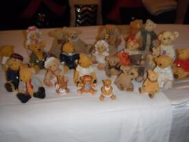24 Collectable teddies