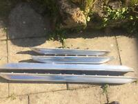 Audi A6 C5 Allroad front & Rear Chrome Lower Door Moulding
