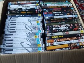 Multi region DVD collection including rare titles - all in mint condition