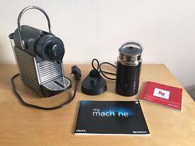 Krups Pixie Electric Titanium & Aeroccino 3 Milk Frother