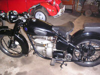 Classic Motocycle Sunbeam s8 1949