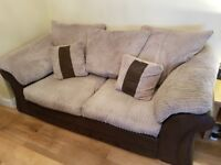 Italian 2x two seater sofas, great condition.