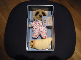 baby Oleg with grub and adoption certificate new, unused