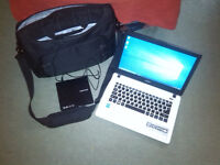 Acer ES 13 notebook + carrybag + CD drive