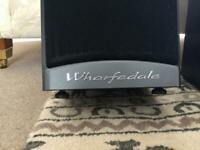 Wharfdale floor standing speakers in superb condition - £100