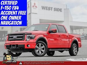 2014 Ford F150 FX-4 Loaded–Accident Free–Navigation