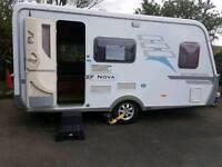 Hymer Nova 435 LS 3 berth Caravan