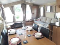 spacious 3 bed static caravan on stunning sea view park on isle of wight