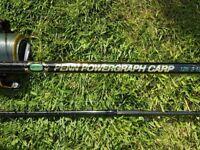 Powergraph Carbon Carp Rod 3.5lbtc