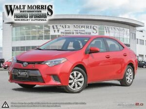 2016 Toyota Corolla LE: LOCALLY OWNED, ONE OWNER