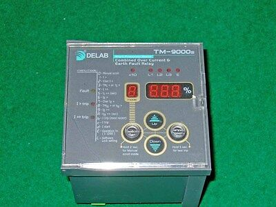 DELAB SCIENTIFIC TM-9000S combined over current & earth fault relay