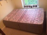 4ft Small Double Bed Base and Mattress Free Delivery or Collection