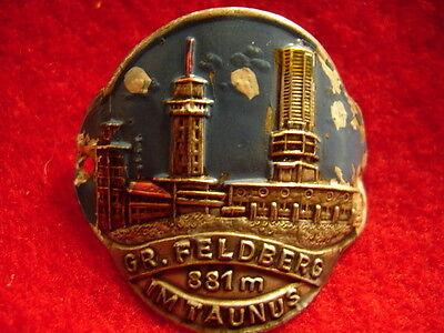 Gr Feldberg im Taunus medallion stocknagel G3421u