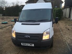 FORD TRANSIT T100 SWB MEDIUM ROOF ONE OWNER FULL SERVICE HISTORY NO VAT
