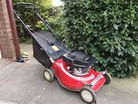 Mountfield lawnmower. GV 100 Honda engine.