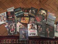 23 dvds mostly films, some unused
