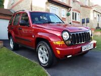 2006 JEEP CHEROKEE LIMITED 2.8CRD , 71K FSH CHEAP TAX VERSION, OWNED FOR 4 YEARS FORTUNE SPENT ON IT