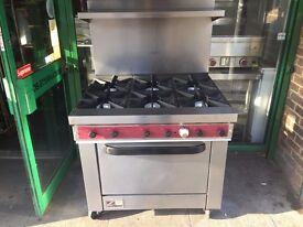 CATERING COMMERCIAL GAS COOKER OVEN FAST FOOD RESTAURANT CAFE BAR HOTEL PUB TAKE AWAY KITCHEN BAR