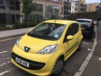 Peugeot 107 (58) yellow 3dr URBAN