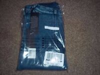 "BNWTIOP Boys ""Replay"" Jersey Stretch Jeans Mid-Blue Size 8years(on label)"