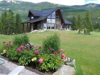 New Private Estate Acreage Windermere, B.C. *  Life Style