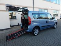 2012 Fiat Doblo 1.4 MyLife Wheelchair Accessible Vehicle Winch ONLY 5,803 Miles 3 Seats + Wheelchair