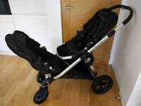 Baby Jogger - City Select (2 seats, 2 cosytoes, raincovers, new bumperbar)