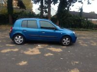 2003 Renault Clio 1.2 Petrol 5 Door Hatchback LONG MOT,2 KEYS