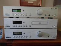 Accoustic Solutions stacked stereo system