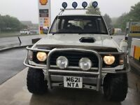 VERY RARE MITSUBISHI PAJERO LIFTED UP, *LEGAL ROAD* READY FOR SNOW