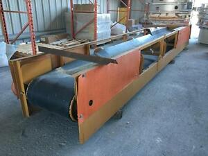 20', 10hp Roller Belt Conveyor