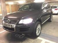"2009 volkswagen touareg 3.0 tdi auto new shape fresh mot fsh low mls 20"" v exp wheels touch screen!!"