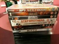 Wow dvds 50p each
