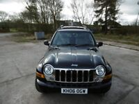 Jeep Cherokee ltd 3.7 Automatic 54k excellent condition 2006 leather seats etc very high spec