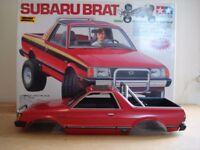 Tamiya Subaru Brat Hard Body Shell
