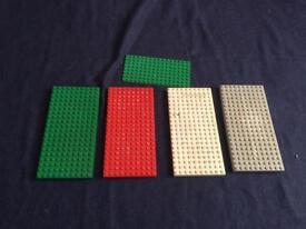 Lego boards x 5