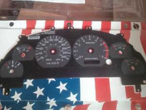 Ford Mustang Guage Cluster Cover and Plastic Cover Pieces
