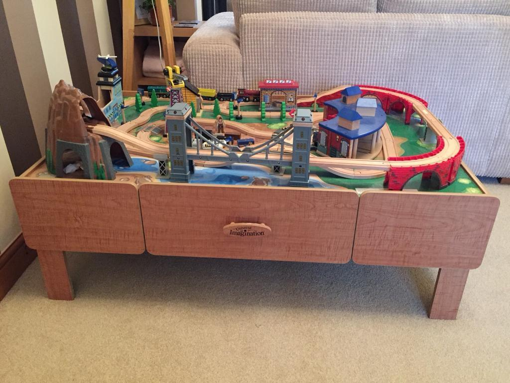 Universe of Imagination mountain rock train table set | in Rochester ...