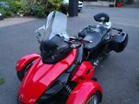Fantastic Trike Can Am for sale Red and Black