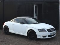 ★ AUDI TT 1.8T 225BHP + RED LEATHER + ALLOYS + ★