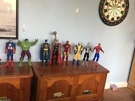 Marvel characters action figures