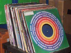 "130 x 12"" Disco / Soul / Funk Vinyl Records Collection 1970's - 80's"