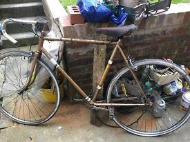Vintage 1970s elswick hopper bike