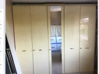 Large 5 door wardrobe, vgc could deliver and fit